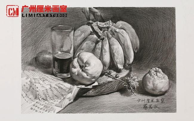 辣椒素描步骤图片
